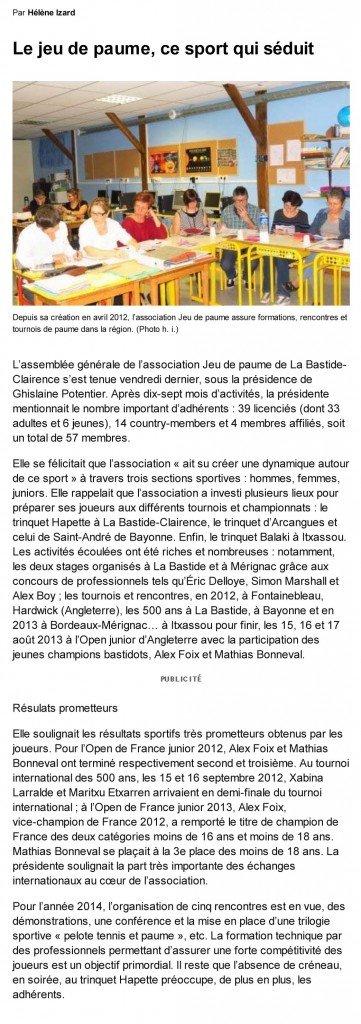 © SudOuest - Assemblée Générale 2013 dans Presse sudouest-ag-2013